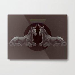 The Dark Side of the Rainbow Metal Print