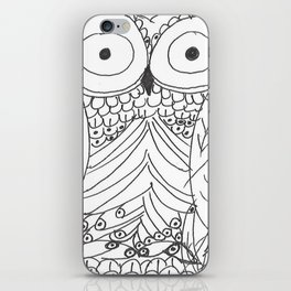 Hoo iPhone Skin
