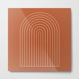 Minimalist Arch XX Metal Print