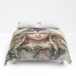 Epic Princess Zelda from Legend of Zelda Painting Comforters