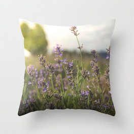flower photography by Jon Phillips Throw Pillow