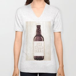 Ice Cold Beer Unisex V-Neck