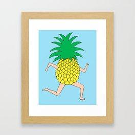 Pineapple Two Framed Art Print