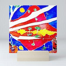 REFLECTION          by Kay Lipton Mini Art Print
