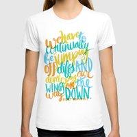 vonnegut T-shirts featuring ...JUMPING OFF CLIFFS by Matthew Taylor Wilson