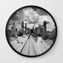 Atlanta Skyline Wall Clock