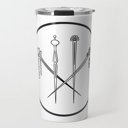 Lulu hairpins Travel Mug