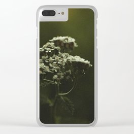 Summer Yarrow Clear iPhone Case