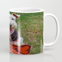 cleveland Mugs featuring Cleveland Fan by Photography by Michiale