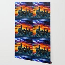 Magic Castle in Sunset Wallpaper