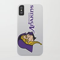 nfl iPhone & iPod Cases featuring Minnesota Anakins - NFL by Steven Klock