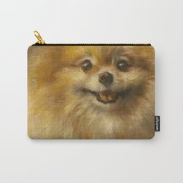 Pomeranian Painting #2 Carry-All Pouch