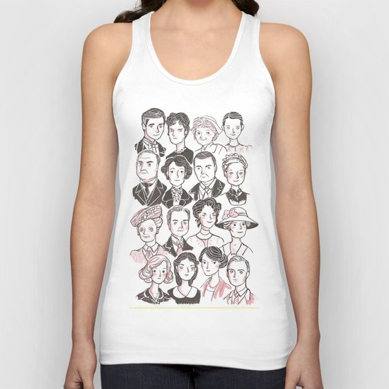 Downton Abbey Unisex Tank Top