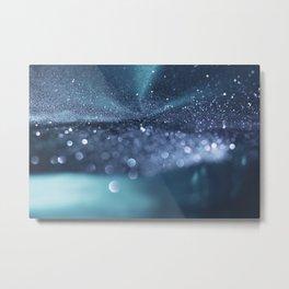 Glitter Bokeh Texture 4 Metal Print