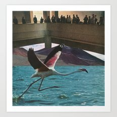 Great Birds 4: Atrium Art Print