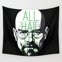breaking bad Wall Tapestries featuring breaking bad by nino benito