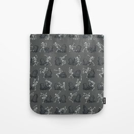 Dancing on the Graves  Tote Bag