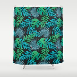 Tropical Camouflage Shower Curtain