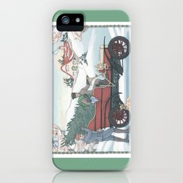 Seasons Greetings (from Steve and Bucky) iPhone Case