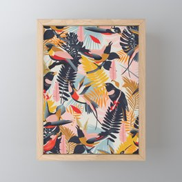 Paradise Birds II. Framed Mini Art Print
