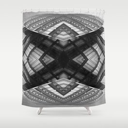 Visions from the Future - Tokyo Shower Curtain