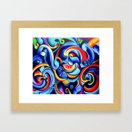 Hurricanes of the Mind Framed Art Print
