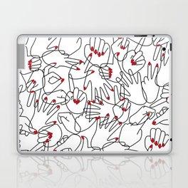 HANDS / pattern pattern Laptop & iPad Skin