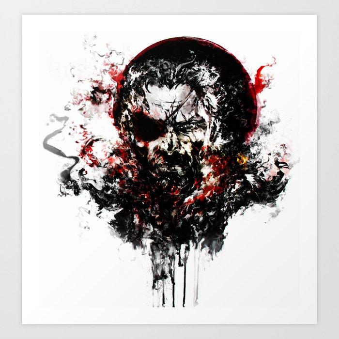 Metal Gear Solid V: The Phantom Pain Art Print