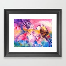 Out Of My Body Framed Art Print