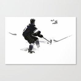 The Deke - Hockey Player Canvas Print