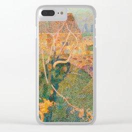 Jan Toorop, Novemberzon, 1888 Clear iPhone Case
