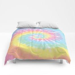Pastel Tie Dye Comforters
