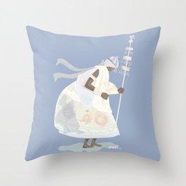 ORIXAS_ oxalá Throw Pillow