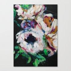 Blurred Vision Series - Ranunculus Bouqet No. 1 Canvas Print