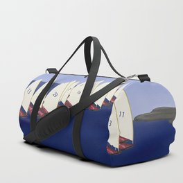 In May, May's Regatta - shoes stories Duffle Bag