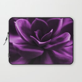 Succulent Plant In Violet Color #decor #society6 #homedecor Laptop Sleeve