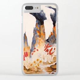 Deep Sea Vent Clear iPhone Case