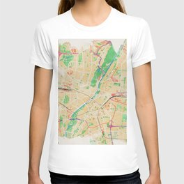 Munich in Watercolor T-shirt