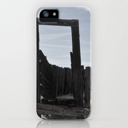 Sun Decayed Corral, Angle 2 iPhone Case