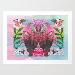 Gymea Lilly Art Print