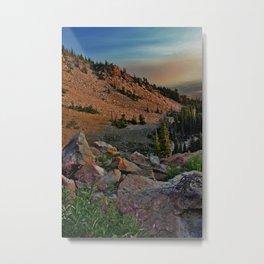 Mountain Smoke Metal Print