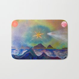 'Empyrean Skyline' Bath Mat