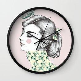 Audrey Hepburn 2 Wall Clock