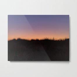 Dunes Sunset Metal Print