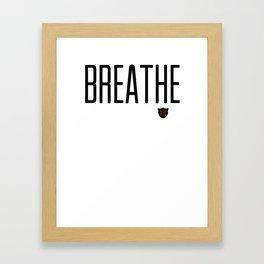 Breathe D36 Framed Art Print