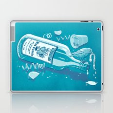 The Late Party Bird Gets the Worm Laptop & iPad Skin