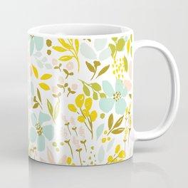 Playful petals - mint Coffee Mug