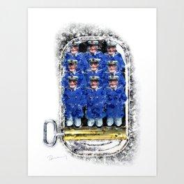 Sardine Captains Art Print