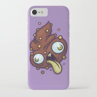 poop iPhone & iPod Cases featuring Poop by Artistic Dyslexia