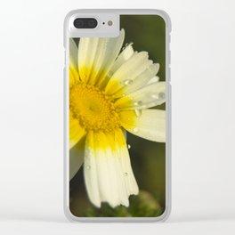 Daisy #5 Clear iPhone Case